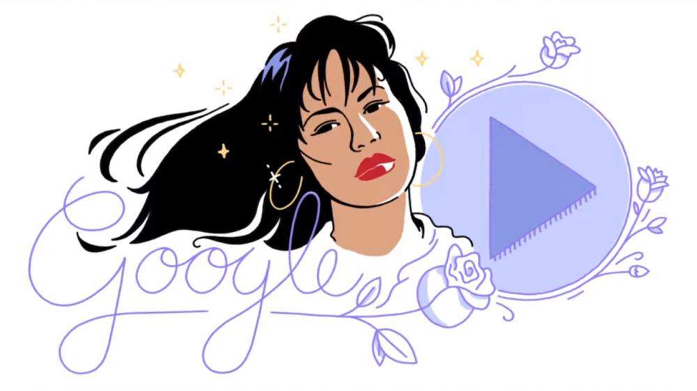 Google Doodle Celebrates The Queen Selena Quintanilla