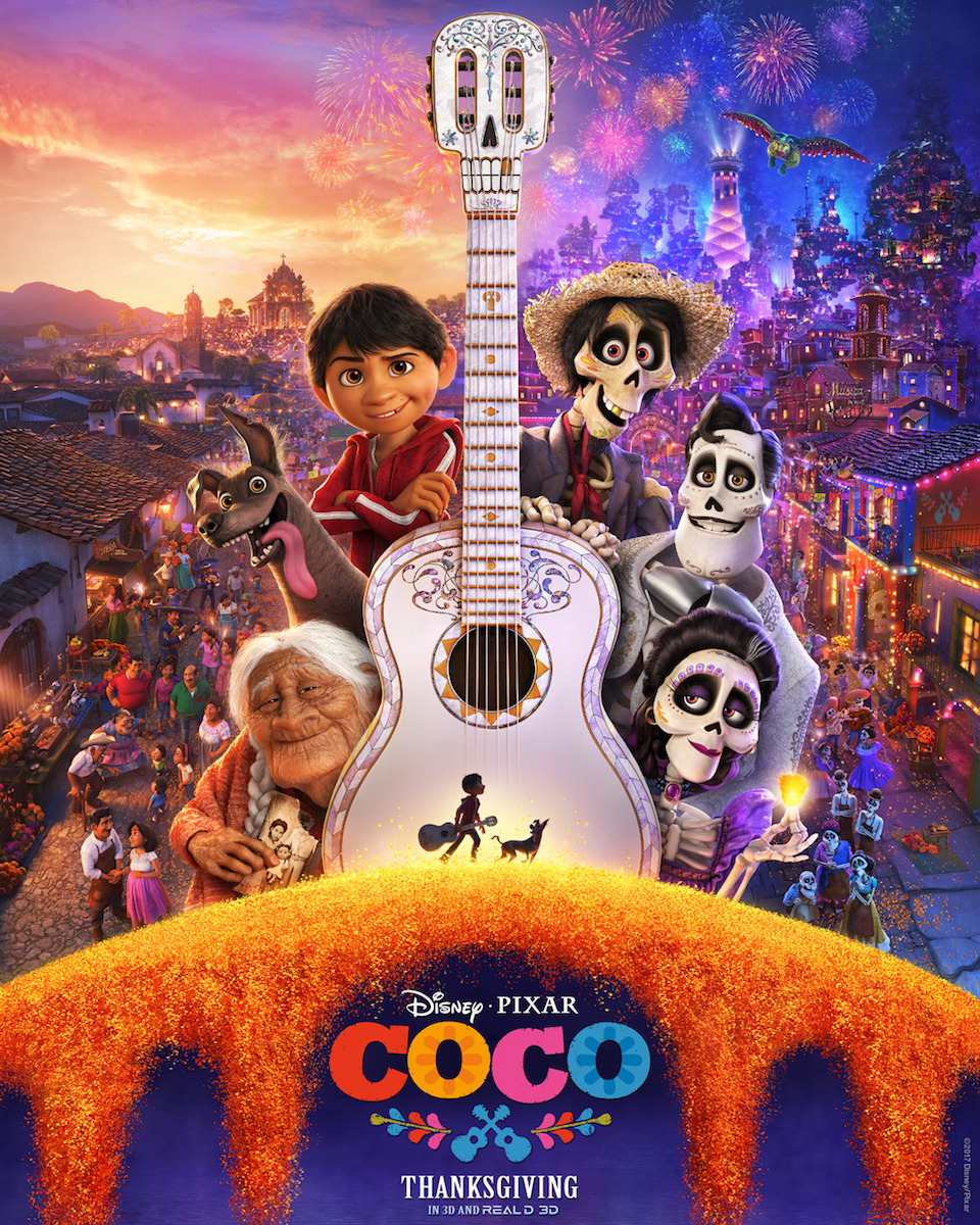 "Interview with the voice of ""COCO"" in Theaters NOW"