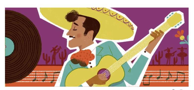 Google Doodle Honors Pedro Infante