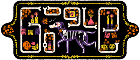 Google Doodle Celebrates Day Of The Dead