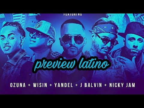 J Balvin, Wisin, Yandel, Ozuna, & Nicky Jam Come Together For Hit!