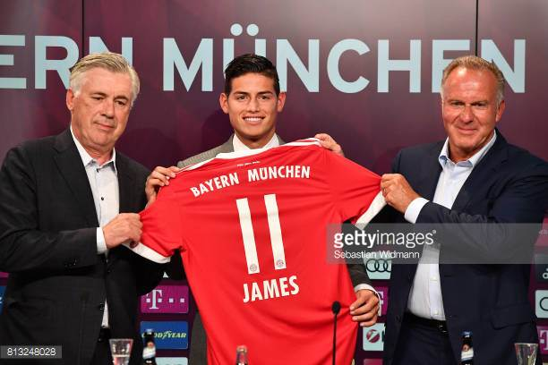 James Rodriguez Happy At Bayern Munich