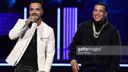 "Luis Fonsi & Daddy Yankee At Grammy's With ""Despacito"""