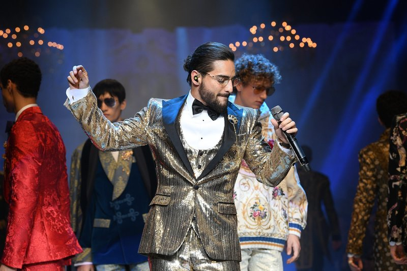 Maluma in Milan Fashion Week