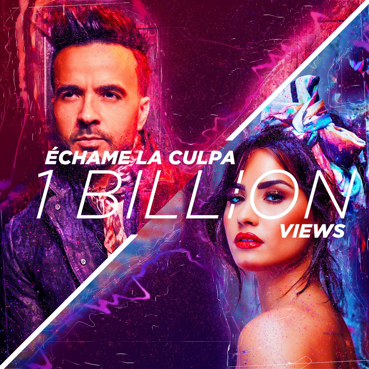 Luis Fonsi & Demi Lovato Reach 1B Views