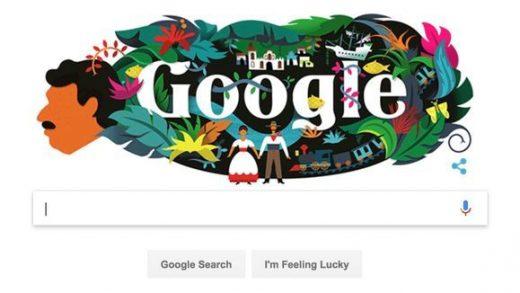 Gabriel Garcia Marquez Google Doodle