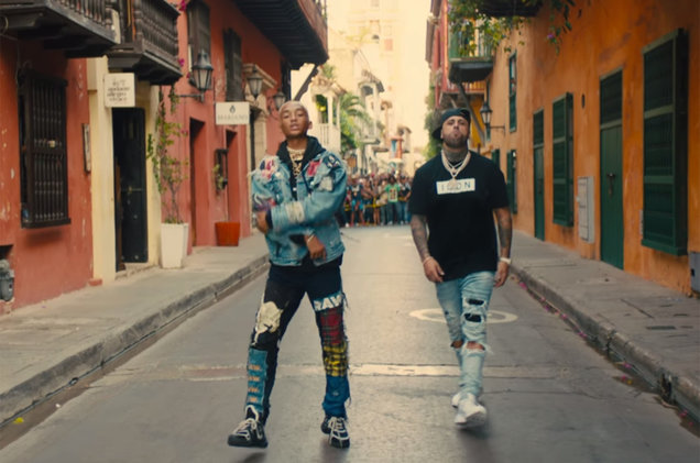 Jaden Smith & Nicky Jam New Single