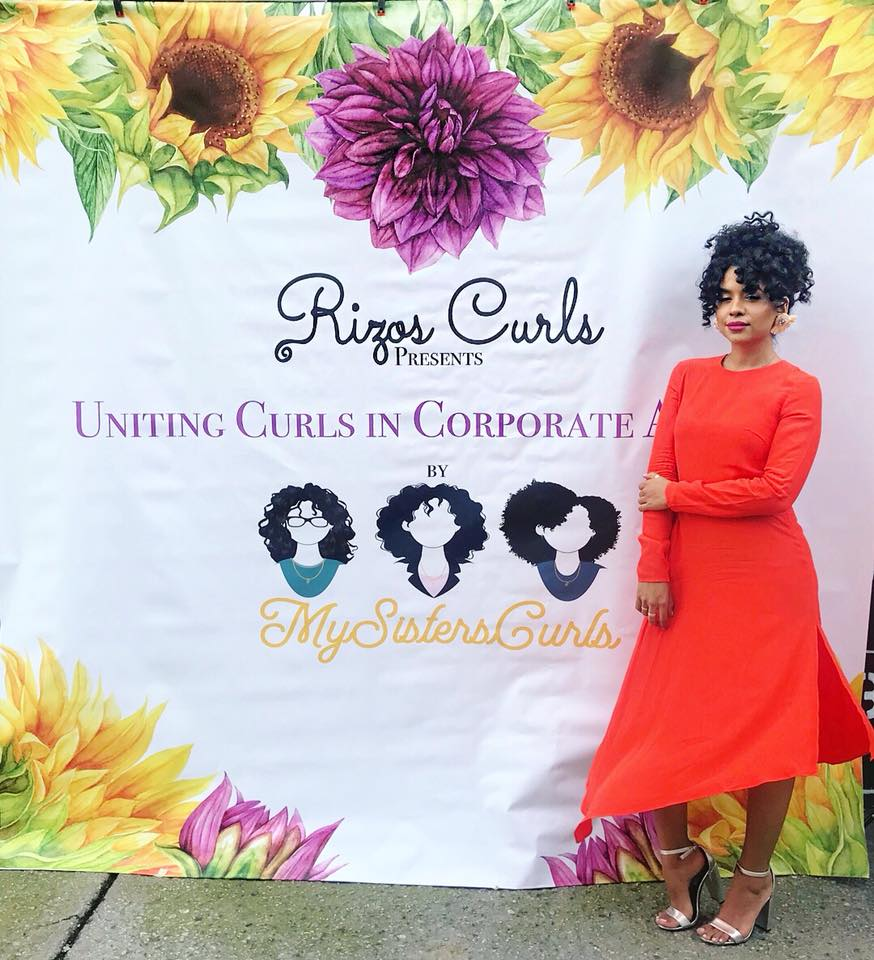 "Latina Entrepreneur Innovates With ""Rizos Curls"""
