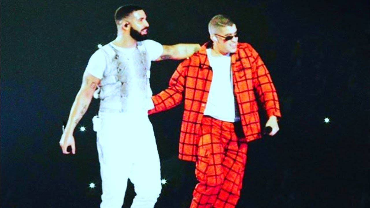 Drake And Bad Bunny Take Miami Stage