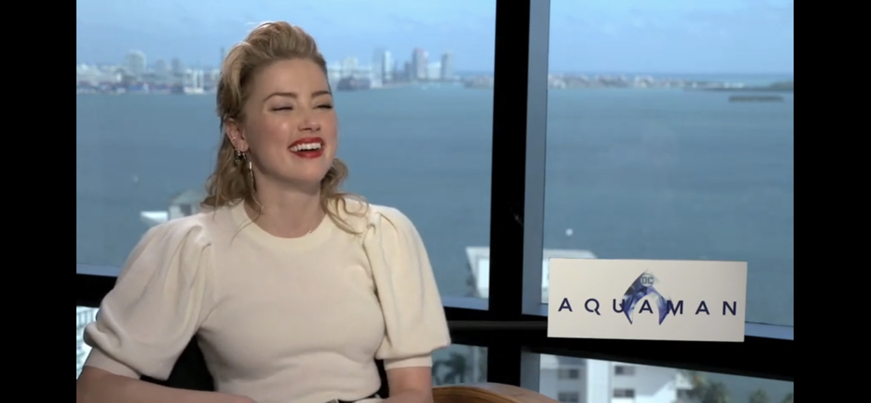 Aquaman Interview With Amber Heard