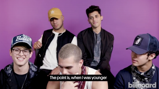 Growing Up Latino With CNCO