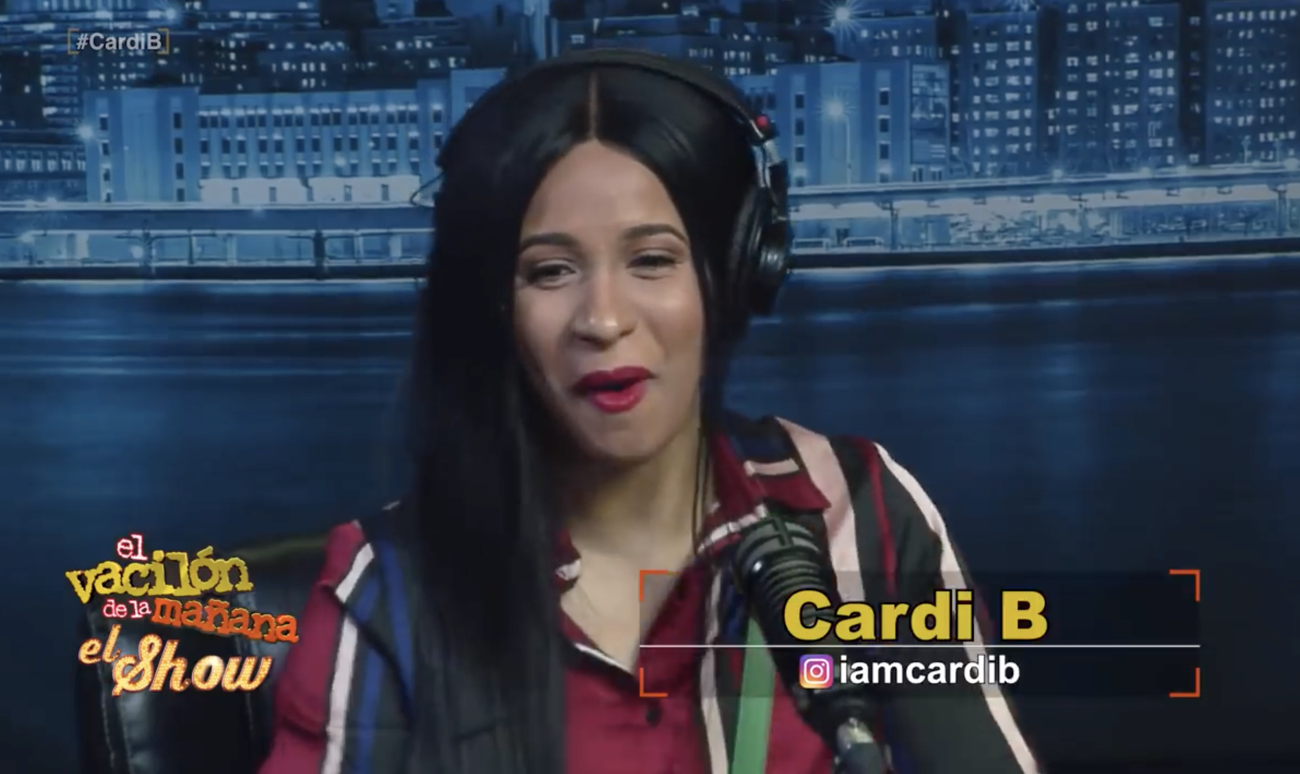 Cardi B Spanish Interview