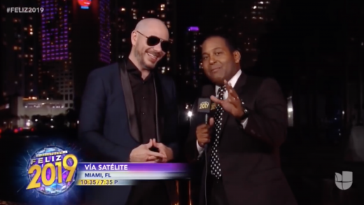 Pitbull's NYE Countdown