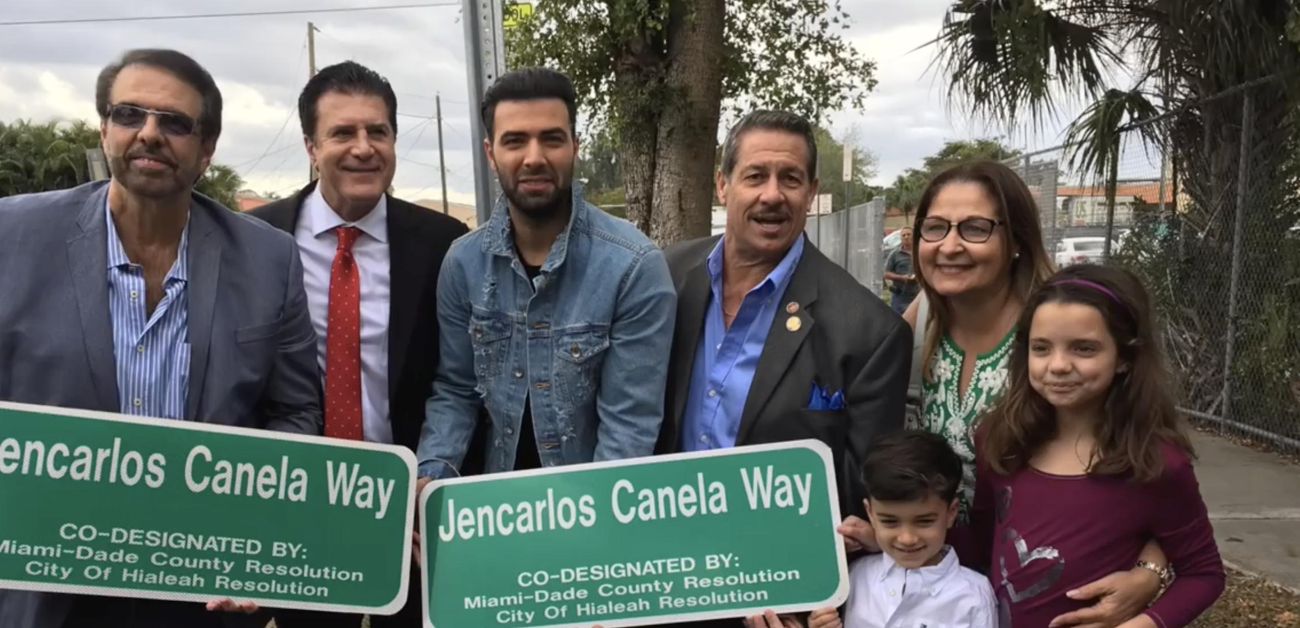 Jencarlos Canela's Street In Hialeah!!