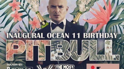 Pitbull's New Restaurant Opening