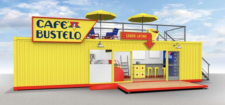 Café Bustelo Pop-Up Shop