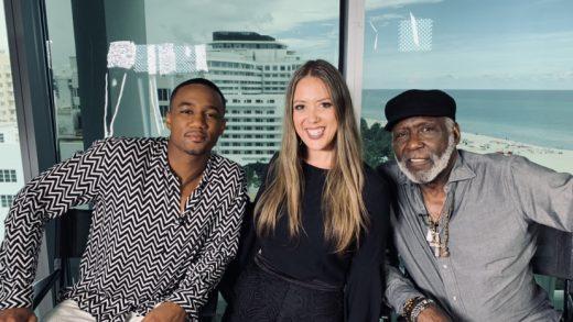 Shaft…Richard Roundtree & Jessie T. Usher