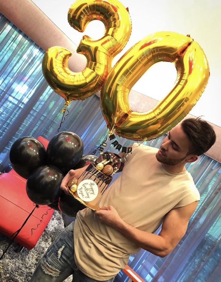 Prince Royce's 30th Birthday