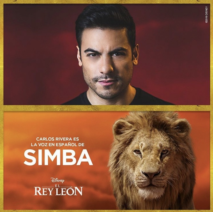 Carlos Rivera in Lion King
