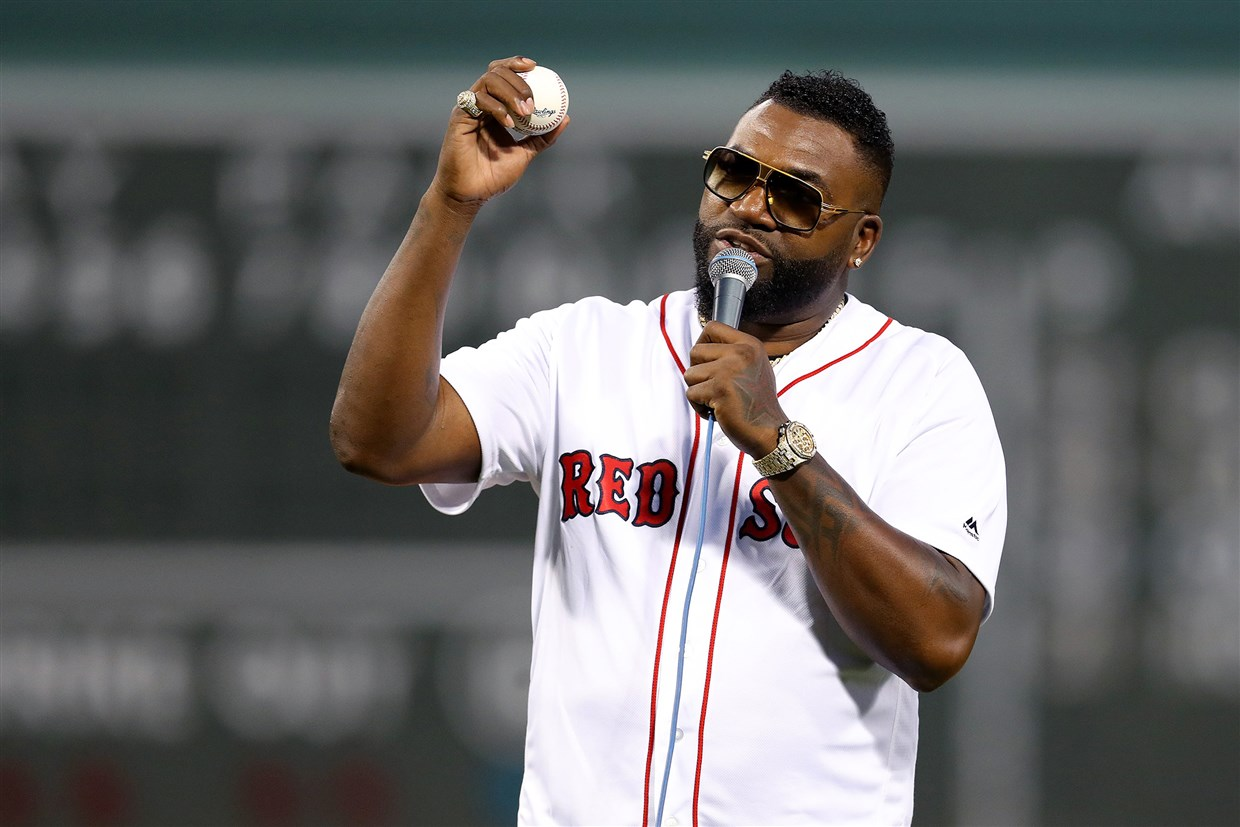 Big Papi Is Back Home!