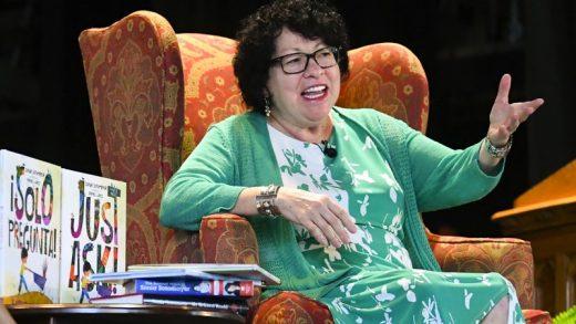 "Sonia Sotomayor Releases Children's Book ""Just Ask"""