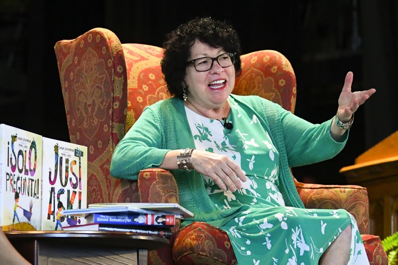 "Sonia Sotomayor Releases Children's Book ""Just Ask"""