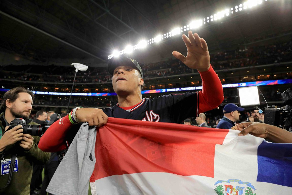 Dominican Flag On Full Display for World Series
