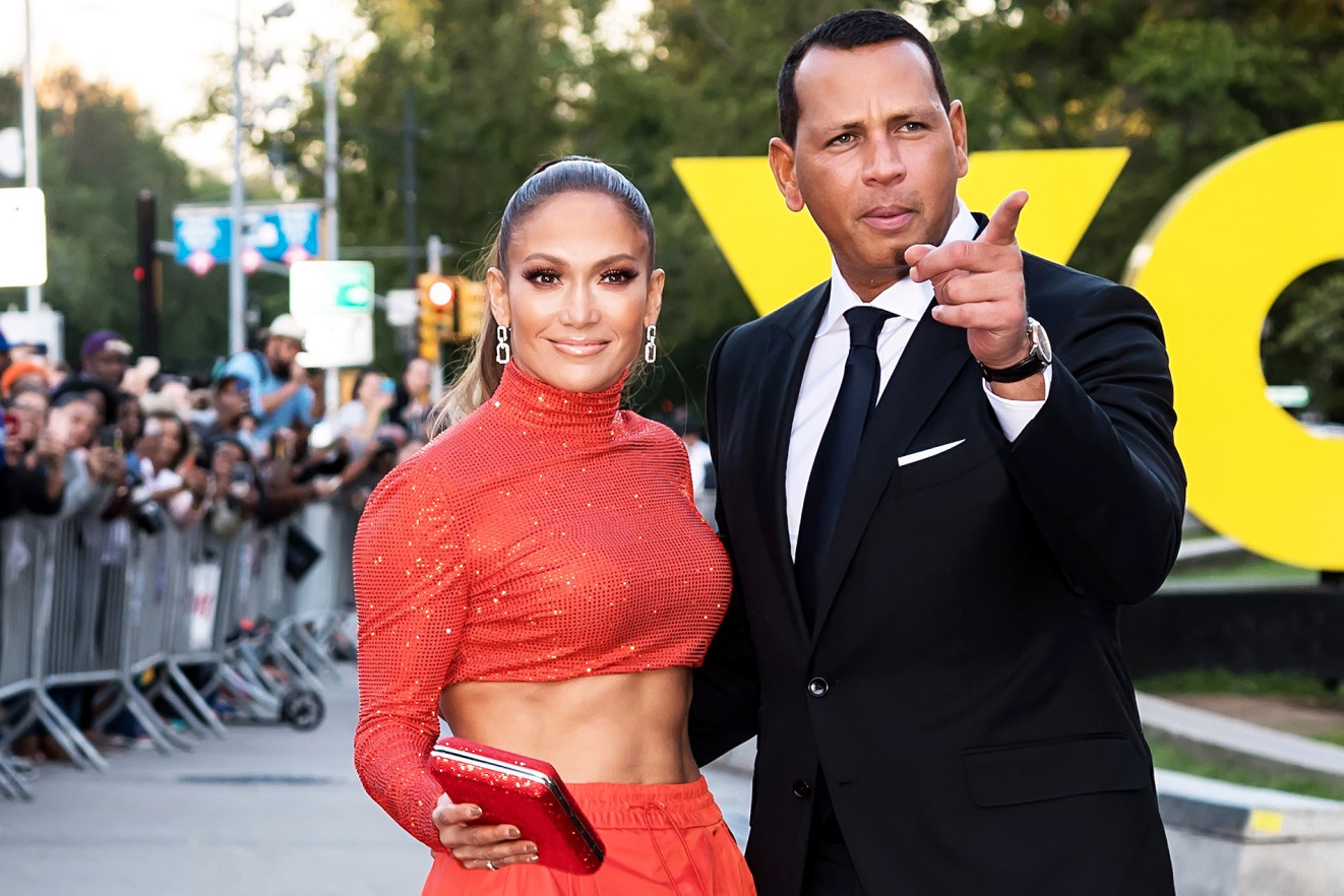 J-Lo & A-Rod After the Mets
