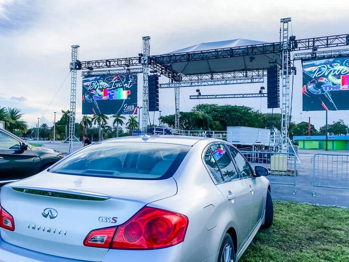 Miami's Drive-In Movie Theater