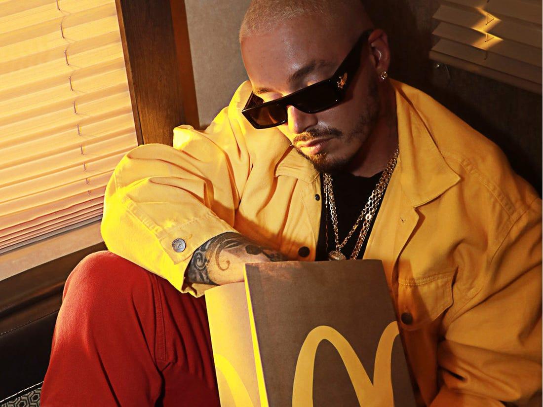 J Balvin x McDonalds