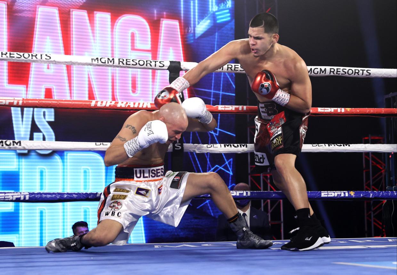 Puerto Rican Boxer Edgar Berlanga