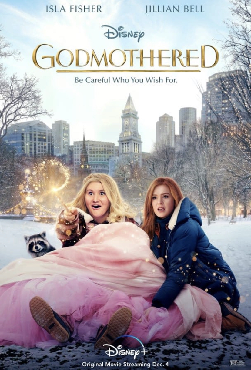 Let the Holiday magic begin …with Disneys Godmothered on Disney Plus.