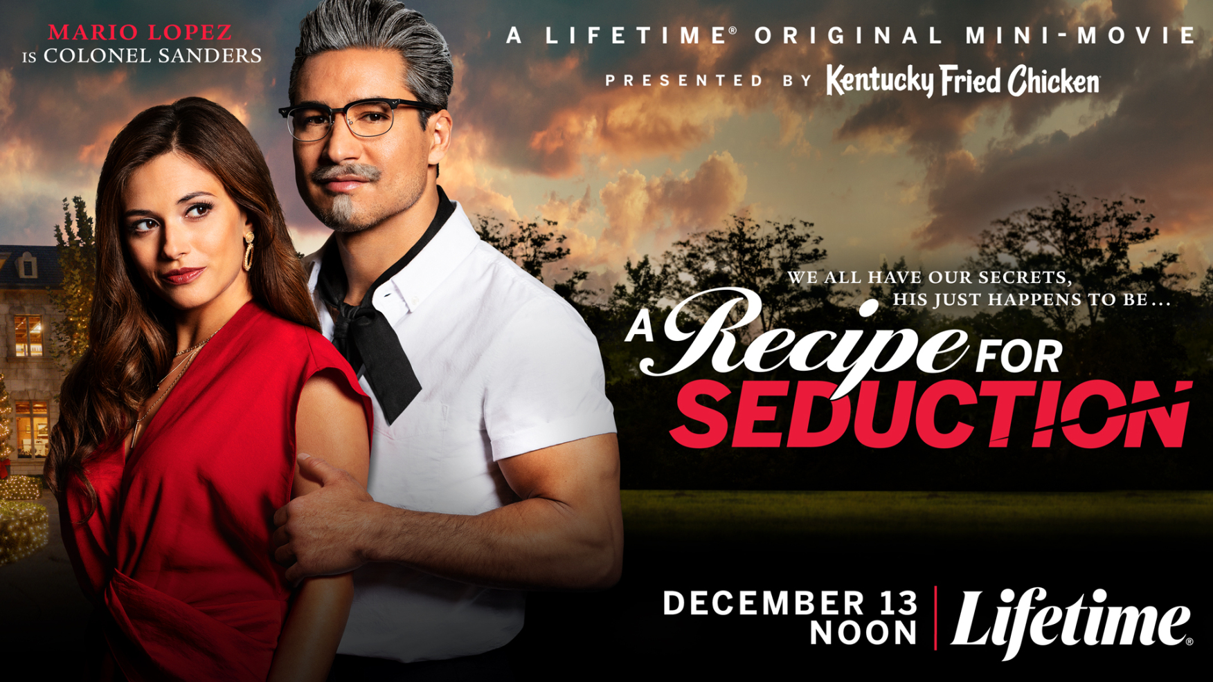 Mario Lopez In KFC-Lifetime Original Movie