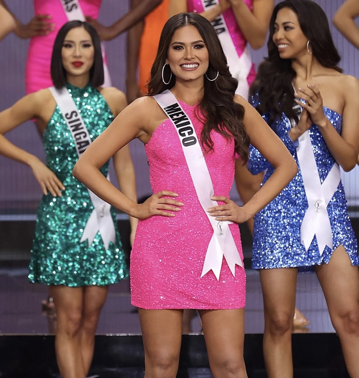 Miss Mexico Andrea Meza