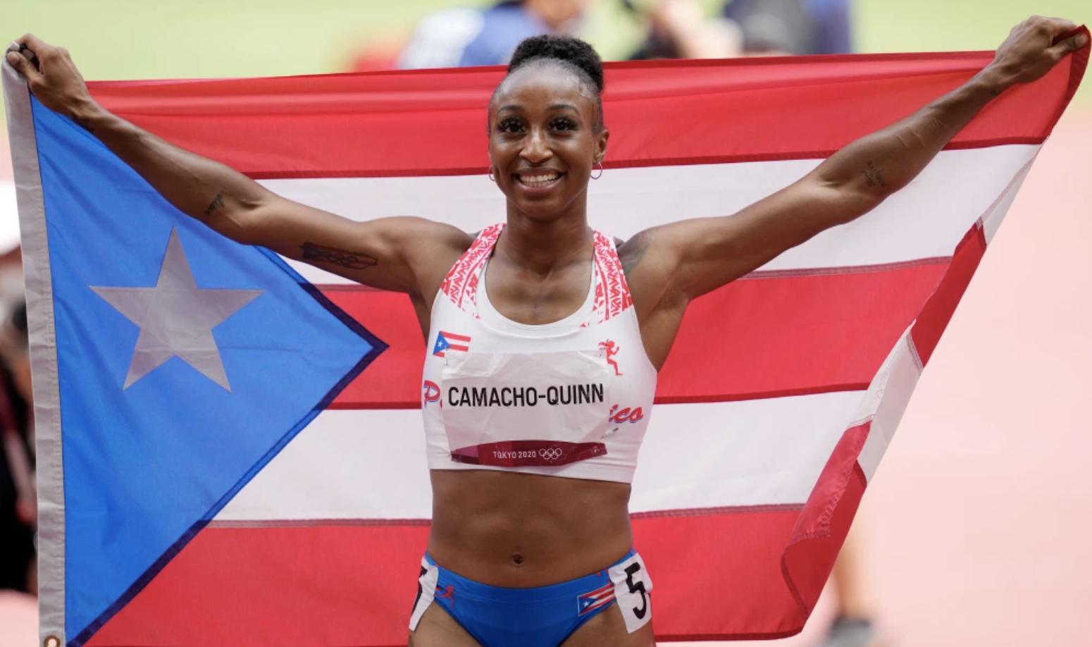 Puerto Rican Jasmine Camacho-Quinn Wins Gold!